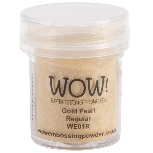 WOW Embossing Powder - Gold Pearl - 15ml / 1.oz