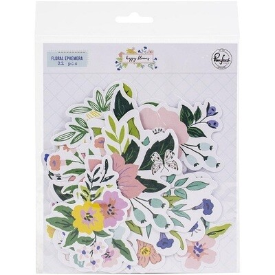 PinkFresh Studio - My Favourite Story - Floral - Ephemera Pack