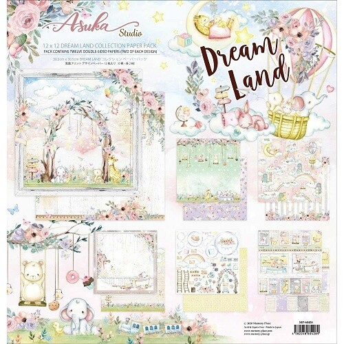 Memory Place - Asuka Studio - Dreamland Collection - 12 x 12 Paper Pack