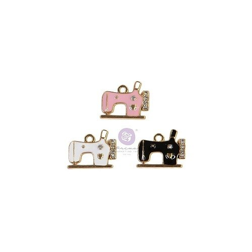 Prima Marketing - My Sweet collection - Charms - Sewing Machine - 997090 - 3 pcs