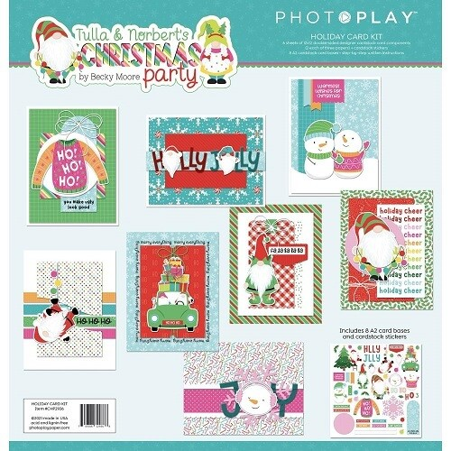 Photoplay - Tulla & Norbet's Christmas Party - Card Kit