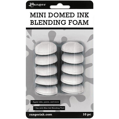 Ranger - Mini Domed Ink Blending Foam Replacement Pads - 10 pack - Suits IBT40965