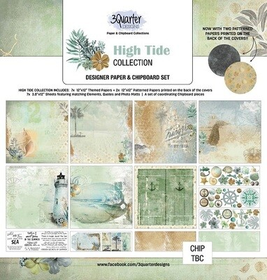 3 Quarter Designs - 12 x 12 Collections - High Tide