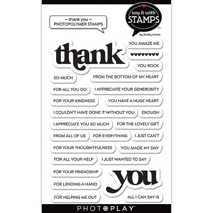 Photoplay - Say It With Stamps - Thank You - SIS2819