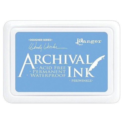 Wendy Vecchi - Ranger - Archival Ink - Periwinkle - Size O
