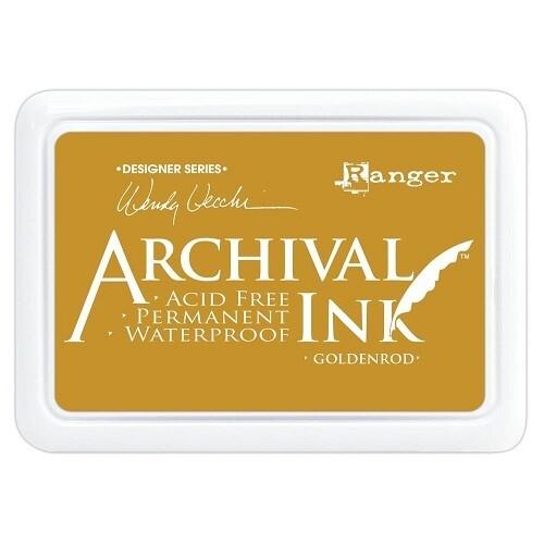 Wendy Vecchi - Ranger - Archival Ink - Golden Rod - Size O