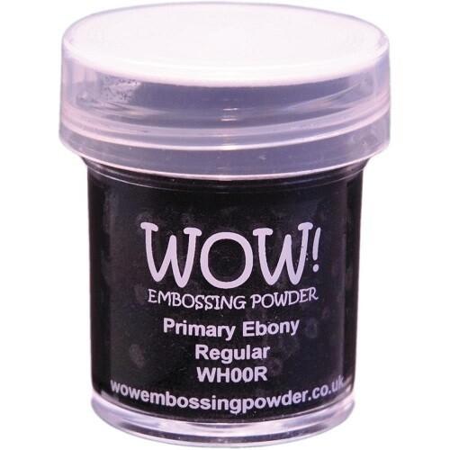 WOW Embossing Powder - Primary - Ebony - 15ml / 1.oz