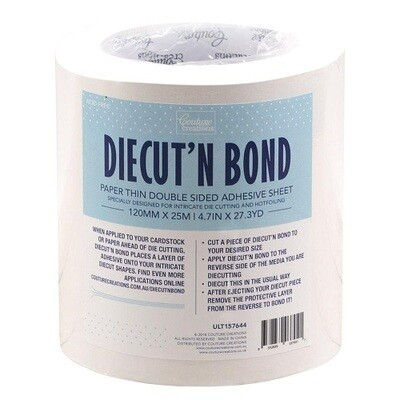 Couture Creations - Die Cut & Bond - Double Side Adhesive Tape 120mm x 50mtrs