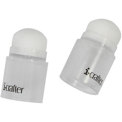i-Crafter - i-Brush - Blender Brushes - Clear - 2 pack