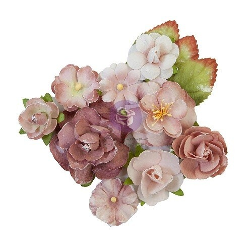 Prima Marketing - Sharon Ziv Paper Flowers - Mauve Dream - 930349