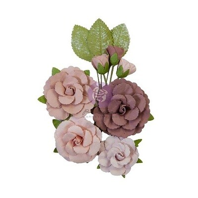 Prima Marketing - Sharon Ziv Paper Flower Collection - Mystic Roses - 930356 - 10 Pieces
