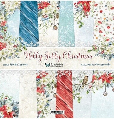 ScrapAndMe - Holly Jolly Christmas - 12 x 12 Paper Collection