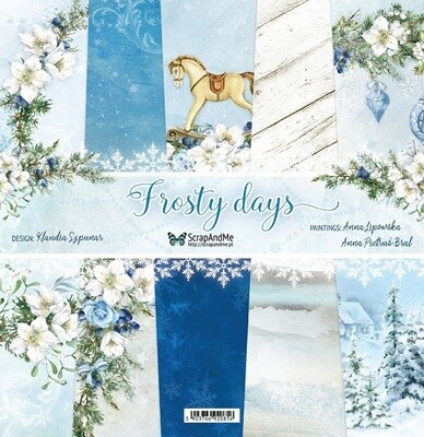 ScrapAndMe - Frosty Days - 12 x 12 Paper Collection