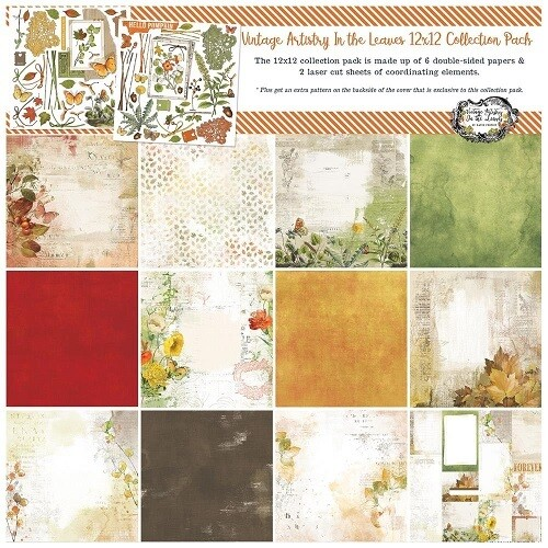49 & Market - Vintage Artistry - In The Leaves - 12 X 12 Paper Collection - VAL35113