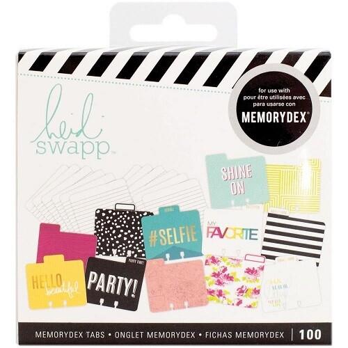 Heidi Swapp - Memorydex - Selfie Card Kit - 313033