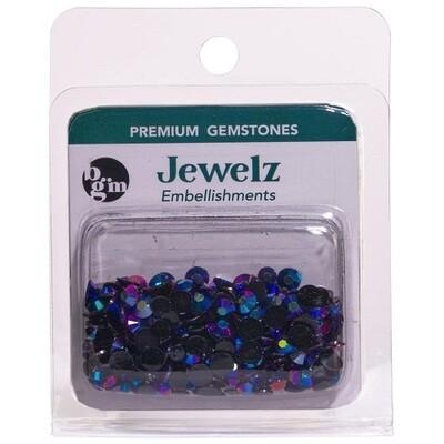 Buttons Galore & More - Jewelz - Rainbow - 8gm - Jewelz 108