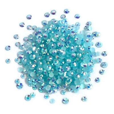 Buttons Galore & More - Jewelz - Capri Blue - 8gm - Jewelz 114