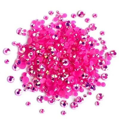 Buttons Galore & More - Jewelz - Rose - 8gm - Jewelz 125