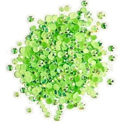 Buttons Galore & More - Jewelz - Peridot - 8gm - Jewelz 109