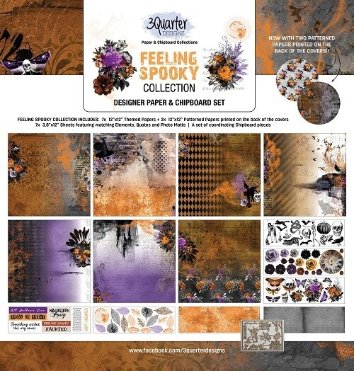 3 Quarter Designs - 12 x 12 Collections - Feeling Spooky