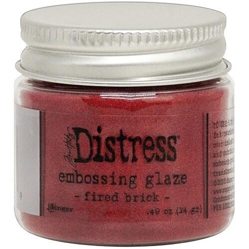 Tim Holtz - Distress - Embossing Glaze - Fired Brick