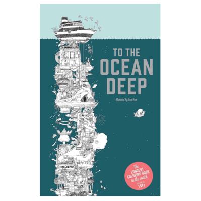 To The Ocean Deep Colouring Book