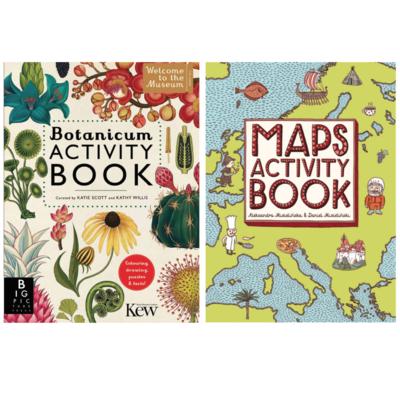Activity Book. Maps or Botanicum