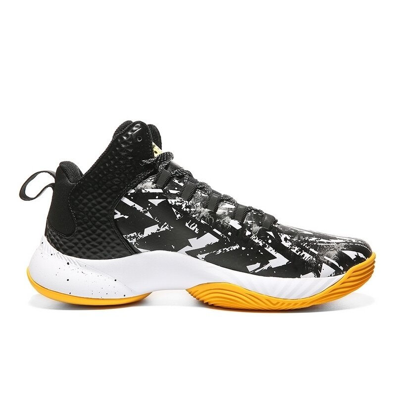 Competitive Series Basketball Shoes (Black/White)
