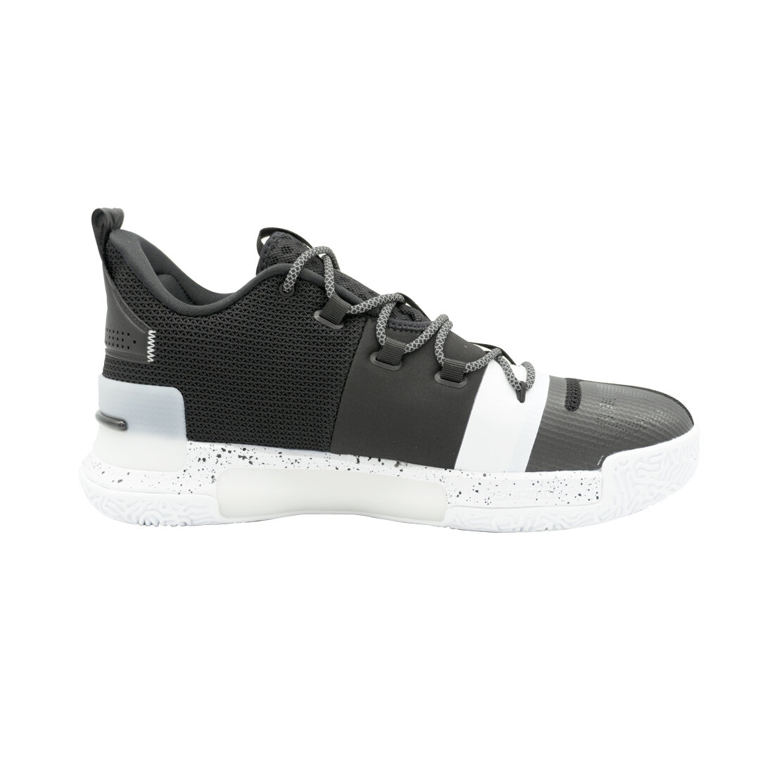 Lou Williams Underground Taichi Flash Basketball Shoes (Black White)