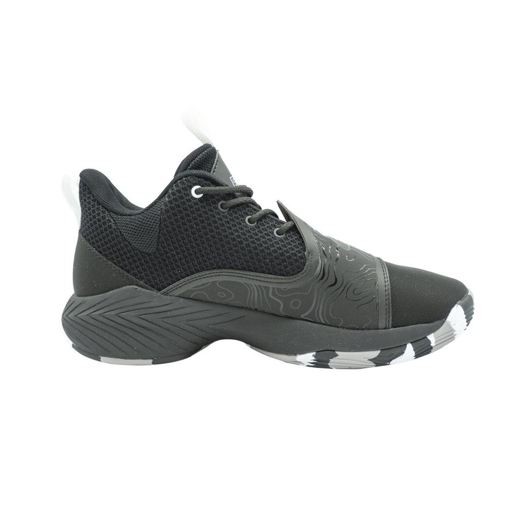 Men Basketball Shoes Low-top Professional Cushioning (Black)