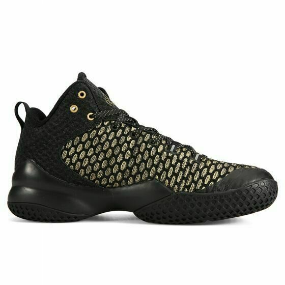 Street Ball Master Lou Williams Basketball Shoes (Black Gold)