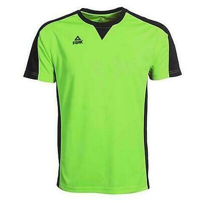 Referee T-Shirt (Fluorescent Green/Black)