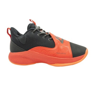 Men Basketball Shoes Low-top Professional Cushioning (Red)