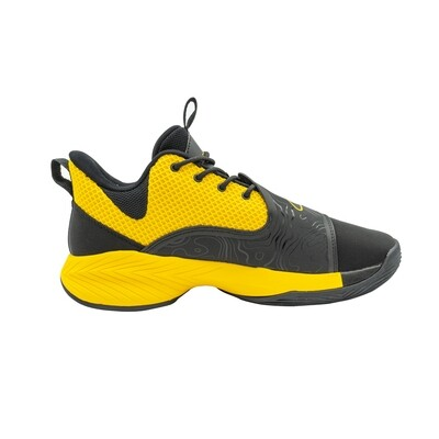 Men Basketball Shoes Low-top Professional Cushioning (Orange)