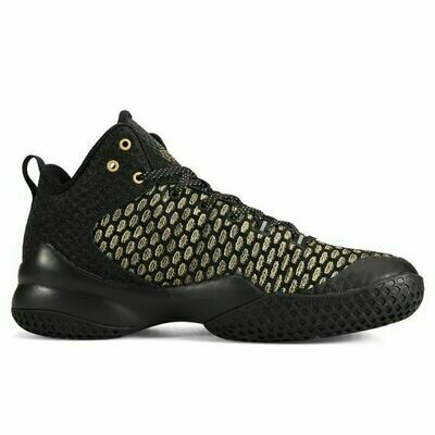 Street Ball Master 1 Basketball Shoes (Black Gold)