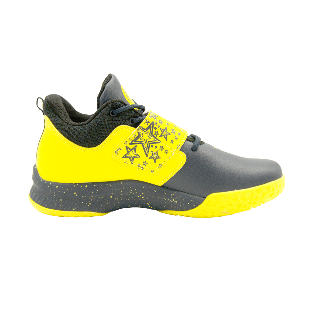 Kids' Basketball Shoes (Black Yellow)
