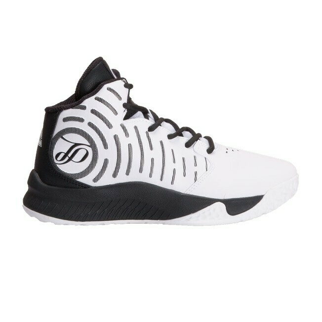 Kids' Basketball Shoes Tony Parker White / Black