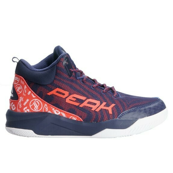 Kids' Basketball Shoes Tony Parker Dk. Blue/Red