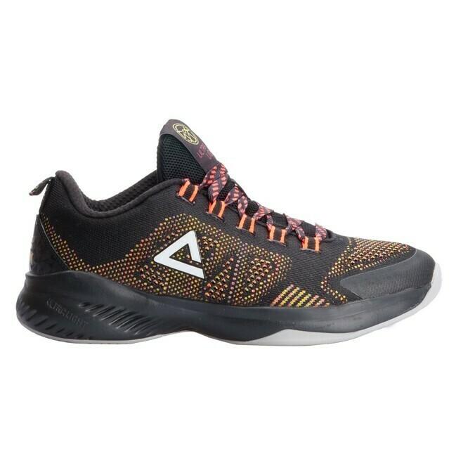 Peak Performance Outdoor Basketball Shoes Black Florecent