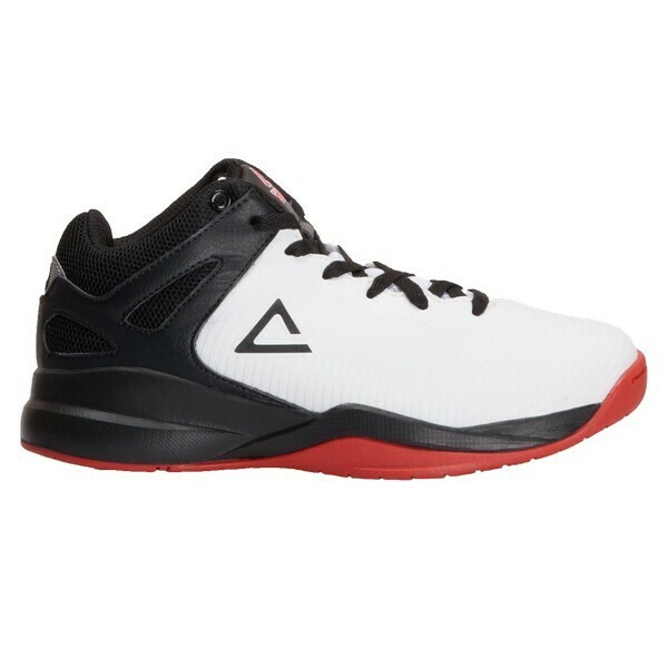 Kids' Basketball Shoes Tony Parker White Black