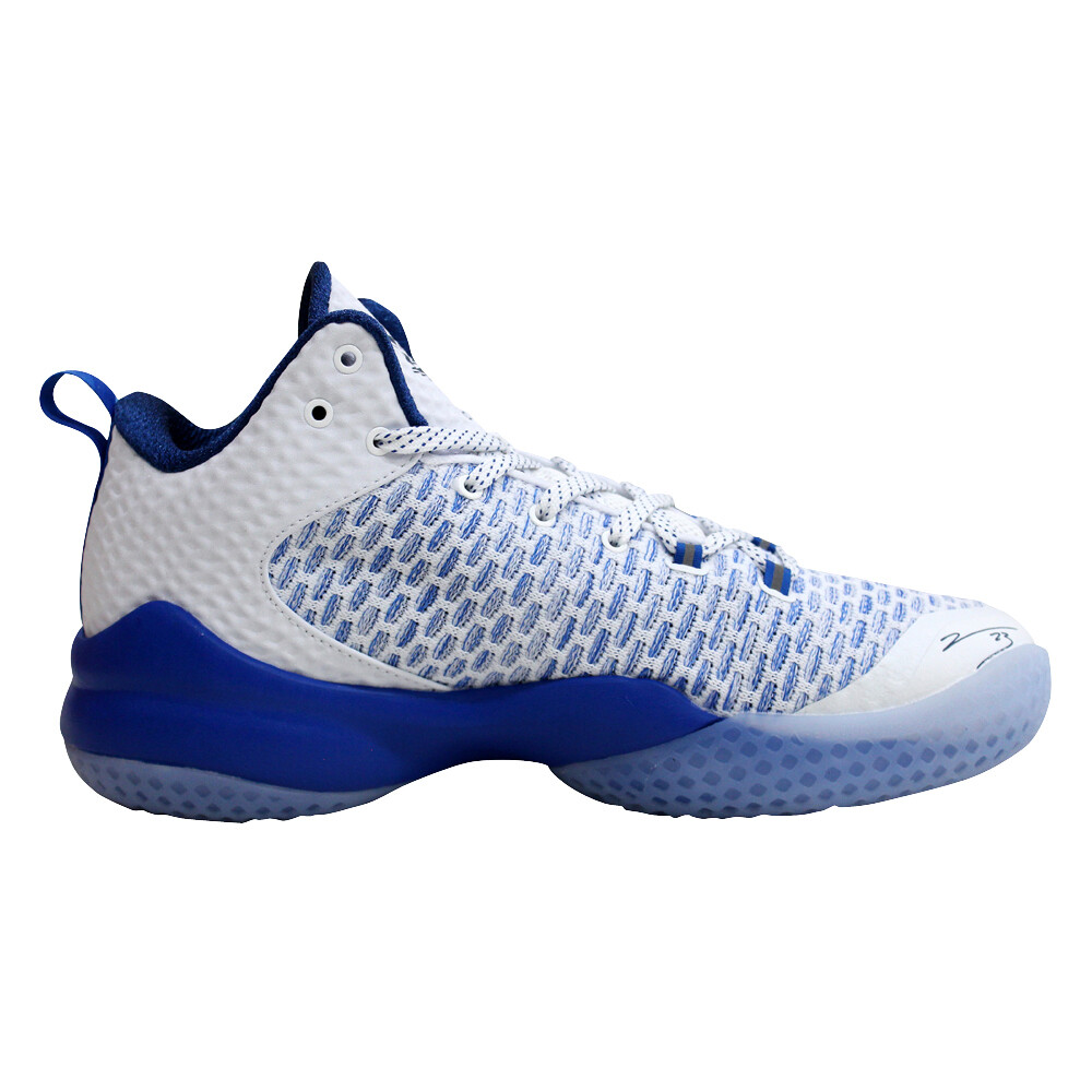 Street Ball Master Lou Williams Basketball Shoes (White Royal Blue)