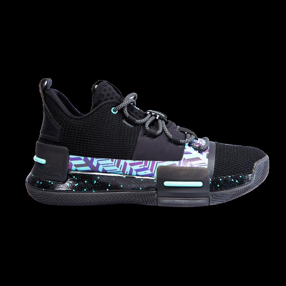Lou Williams Underground TaiChi Flash Basketball Shoes (Black Green)