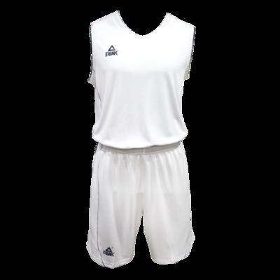 PEAK BASKETBALL JERSEY - WHITE / NAVY