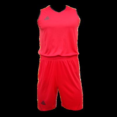 PEAK BASKETBALL JERSEY - RED / BLACK