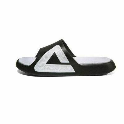Peak Taichi Slipper Black White