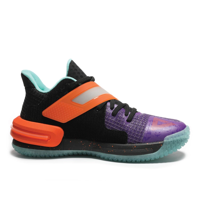 Lou Williams Underground TaiChi Flash 2.0 Basketball Shoes (Laker Purple Orange)