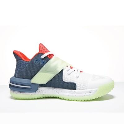 Lou Williams Underground TaiChi Flash 2.0 Basketball Shoes (White / Deep Sea Blue)