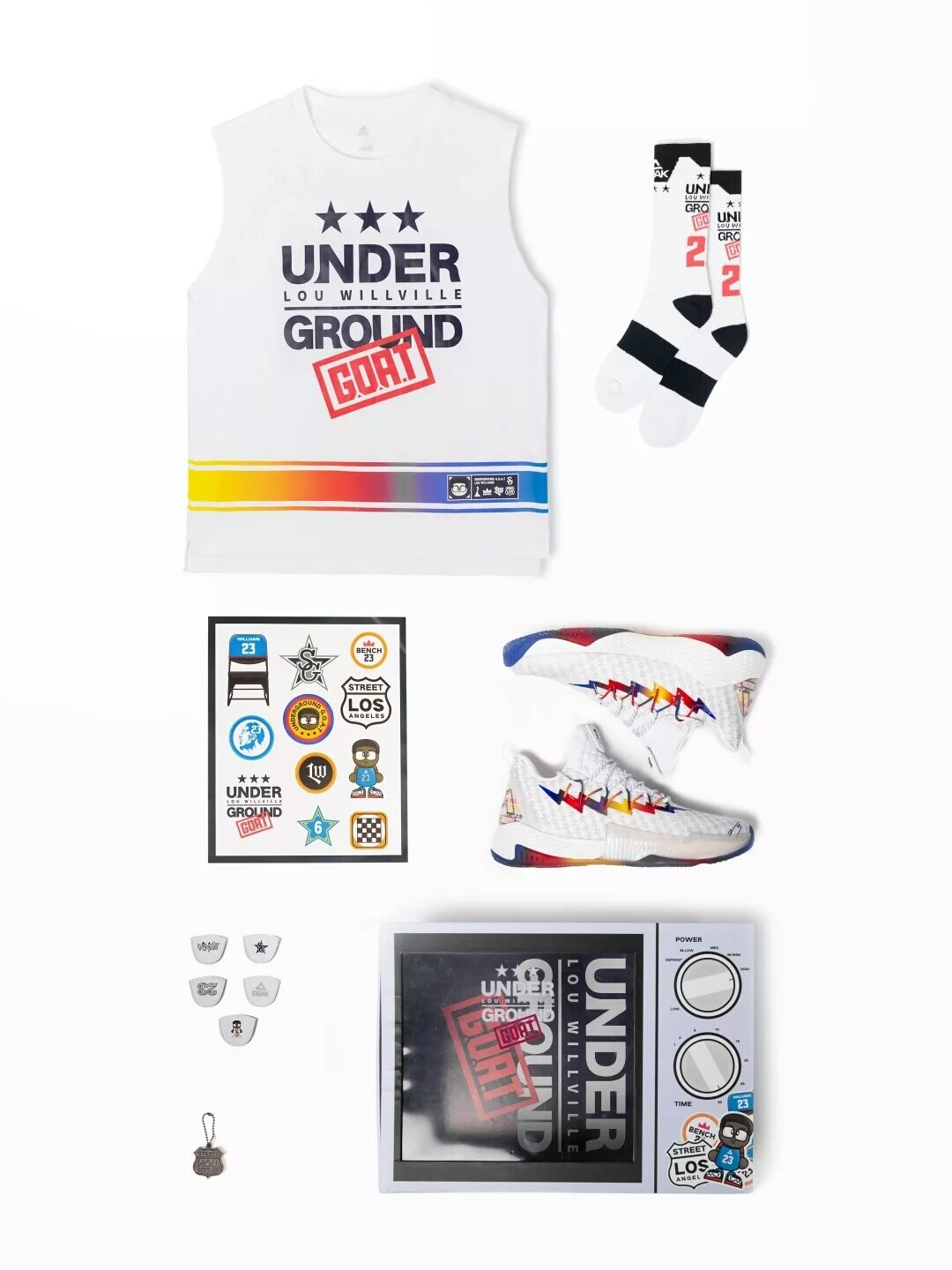 Lou Williams Crazy 6 Basketball Shoes Package Limited Edition