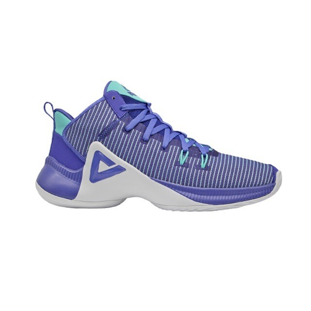 Competitive Series Basketball Shoes (Purple White)
