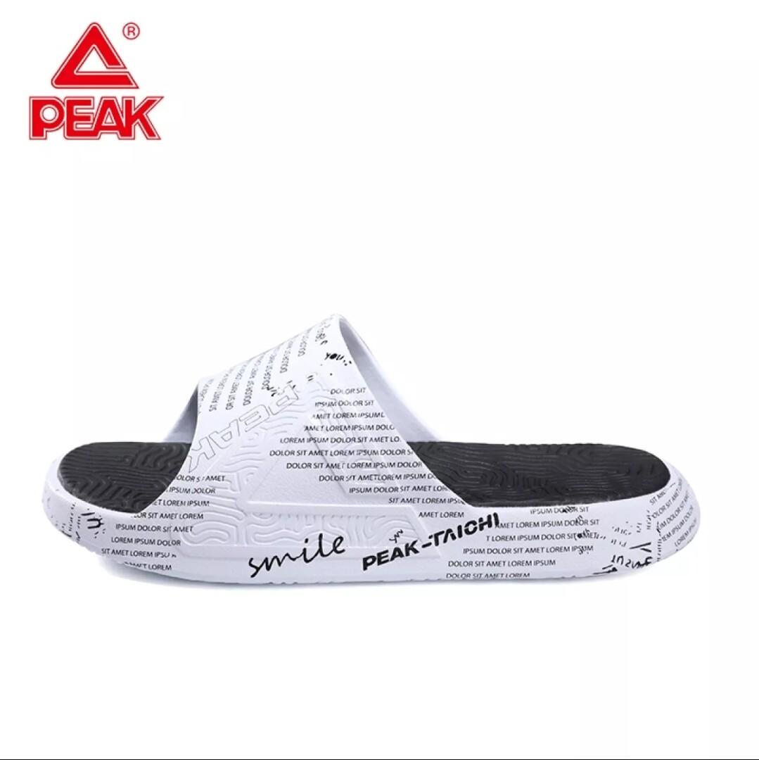 Peak Taichi Slipper White / Special Black (Men)